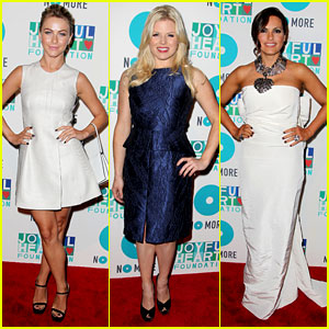 Julianne Hough & Megan Hilty: Joyful Heart Gala 2013