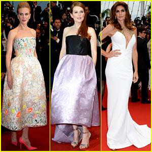Nicole Kidman & Julianne Moore: Cannes Opening Ceremony!