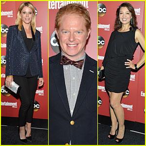 Julie Bowen & Jesse Tyler Ferguson: ABC Upfront Party!