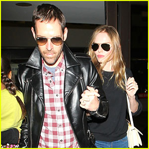 Kate Bosworth & Michael Polish: LAX Landing After Met Ball!