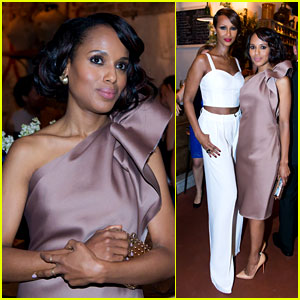 Kerry Washington Attends 'Elle' Dinner, 'Scandal' Finale Tonight!