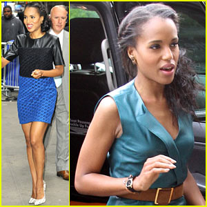 Kerry Washington: 'Good Morning America' Appearance!