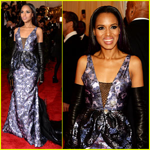 Kerry Washington - Met Ball 2013 Red Carpet