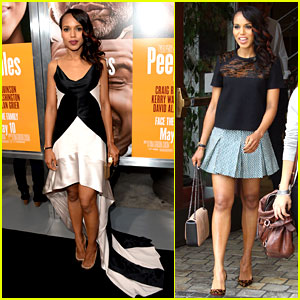 Kerry Washington: 'Peeples' Premiere & 'Extra' Appearance!