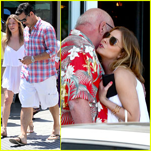 LeAnn Rimes & Eddie Cibrian: Mother's Day Lunch!