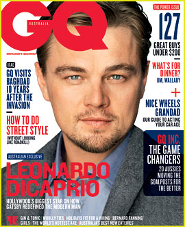 Leonardo DiCaprio Covers 'GQ Australia' June/July 2013