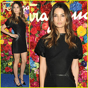 Lily Aldridge: Ferragamo L'Icona Launch!