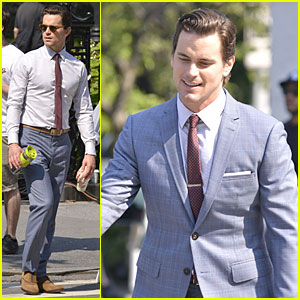 Matt Bomer: 'White Collar' Fifth Season Filming!