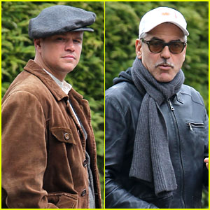 Matt Damon & George Clooney Get to Work on 'Monuments Men'