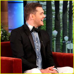 Michael Buble Sets 40 City U.S. Tour, Appears on 'Ellen'