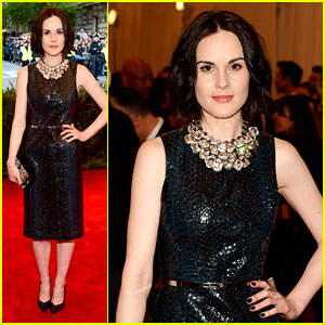 Michelle Dockery - Met Ball 2013 Red Carpet