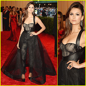 Nina Dobrev - Met Ball 2013 Red Carpet