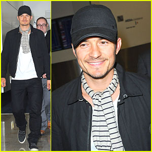 Orlando Bloom: Australia Arrival After Cannes!