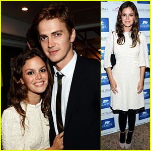 Rachel Bilson &#038; Hayden Christensen: Glacier Films Launch Party