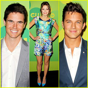 Robbie Amell & Matt Lanter Present New Shows at CW Upfron