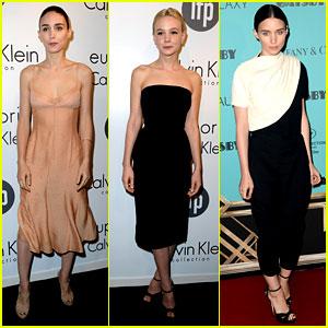 Rooney Mara & Carey Mulligan: IFP/Calvin Klein Cannes Party!