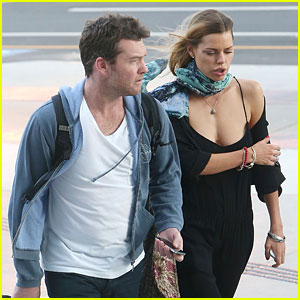 Sam Worthington Spotted with New Girlfriend Sophie Monk