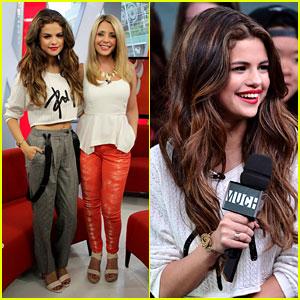 Selena Gomez: Toronto Talk Show Appearances!