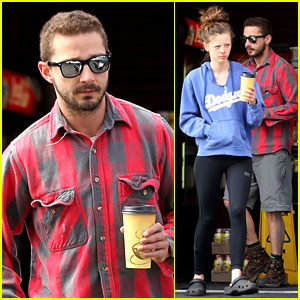 Shia LaBeouf & Mia Goth: Gas Station Coffee Run