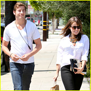 Sophia Bush: Hair Salon Visit with Boyfriend Dan Fredinburg!