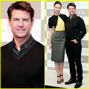 Tom Cruise & Olga Kurylenko: 'Oblivion' Tokyo Press Conference!