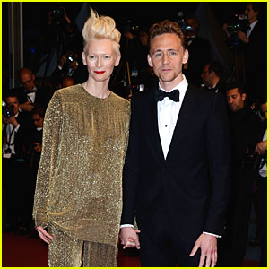 Tom Hiddleston & Tilda Swinton Hold Hands at 'Only Lovers Left Alive' Premiere!