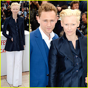 Tom Hiddleston & Tilda Swinton: 'Only Lovers Left Alive' Cannes Photo Call!