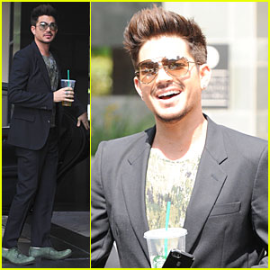 Adam Lambert: Tune into 'Fashion Poice' Tonight!
