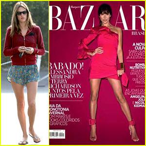 Alessandra Ambrosio Covers 'Harper's Bazaar Brasil' May 2013