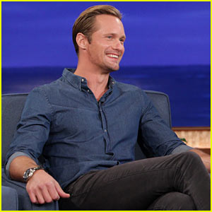 Alexander Skarsgard: 'Conan' Appearance - Watch Now!
