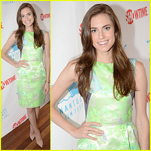 Allison Williams: Nantucket Film Festival!