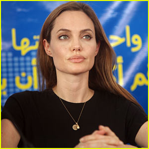 Angelina Jolie: World Refugee Day Press Conference in Jordan
