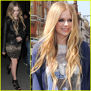 Avril Lavigne: So Glad to Be Back in the UK!