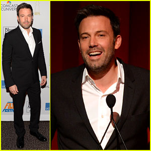 Ben Affleck: UCLA's Film Festival Award Recipient!