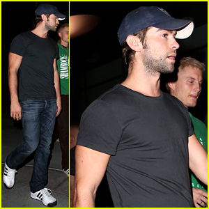 Chace Crawford: ArcLight Movie Outing!