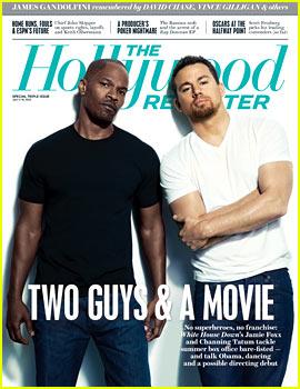 Channing Tatum & Jamie Foxx Cover 'THR'