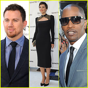 Channing Tatum & Jamie Foxx: 'White House Down' D.C. Screening!