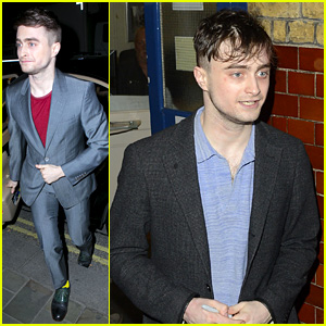 Daniel Radcliffe: 'Cripple of Inishmaan' Opens in London!