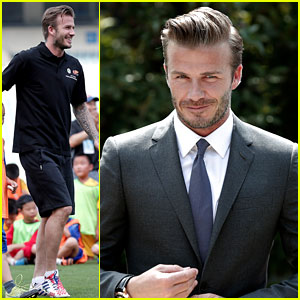 David Beckham Visits China!