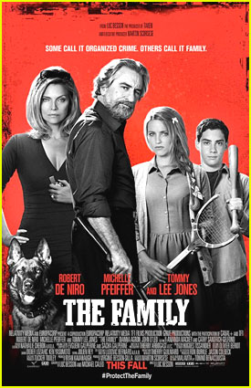 Dianna Agron & Robert De Niro: 'The Family' Trailer & Poster!