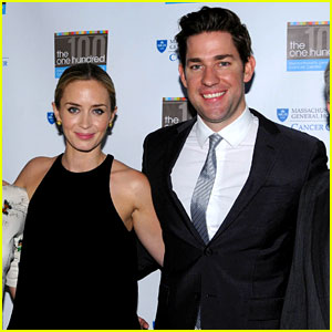 Emily Blunt & John Krasinski: MGH Cancer Center's 100 Gala!