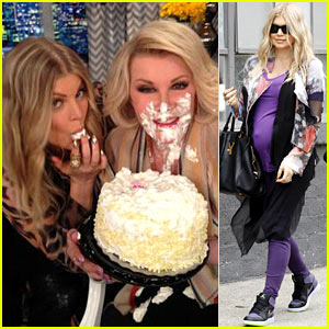 Fergie: 80th Birthday Cake for Joan Rivers!