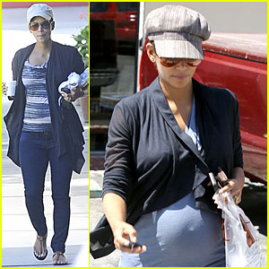Halle Berry: Pregnant Chinese Food Cravings!
