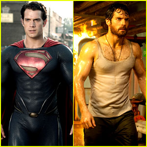 Henry Cavill & Amy Adams: 'Man of Steel' In