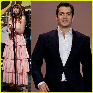 Henry Cavill & Zooey Deschanel: 'Tonight Show' Guests!