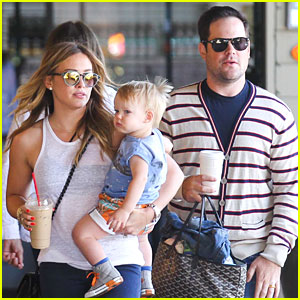 Hilary Duff & Mike Comrie: Father's Day Weekend with Luca!