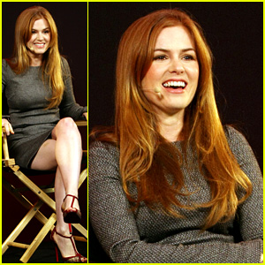 Isla Fisher: Apple Store Appearance in London!