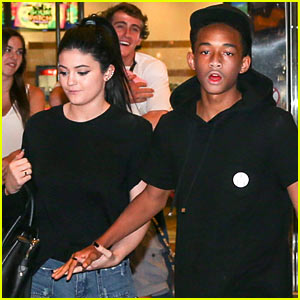 Jaden Smith & Kylie Jenner Hold Hands After Movie Outing!