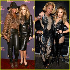 Jennifer Lopez & Mary J. Blige: Chime for Change Concert!