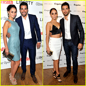 Jesse Metcalfe & Cara Santana: London Fashion Events!